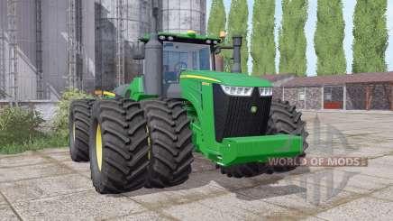 John Deere 9570R twin wheels pour Farming Simulator 2017