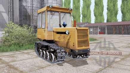 DT 75ML mit einer Klinge für Farming Simulator 2017