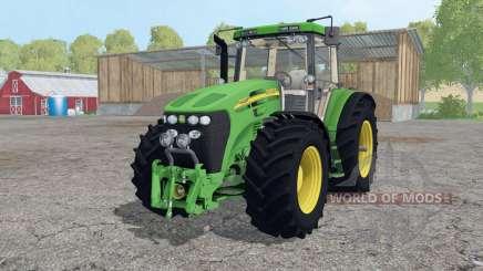 John Deere 7920 wheels weights pour Farming Simulator 2015