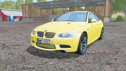 BMW M3 coupe (E92) für Farming Simulator 2015