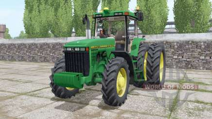 John Deere 8400 wheels selection pour Farming Simulator 2017