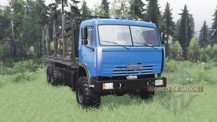 KamAZ 43118 lange base v1.1 für Spin Tires