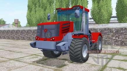Kirovets K-744Р4 leuchtend rot für Farming Simulator 2017