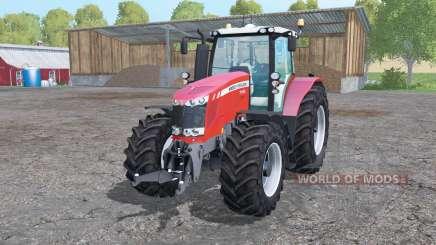 Massey Ferguson 7726 animation parts pour Farming Simulator 2015