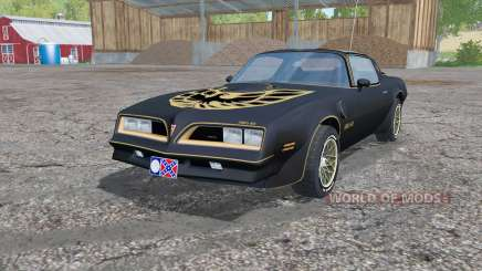 Pontiac Firebird Trans Am Special Edition 1977 für Farming Simulator 2015