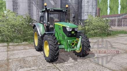 John Deere 6115M interactive control pour Farming Simulator 2017