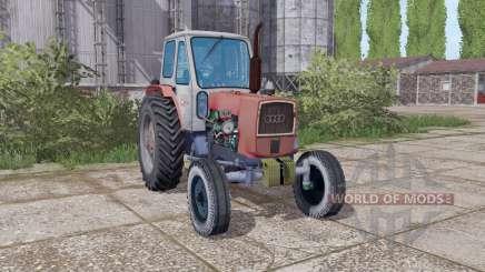 UMZ 6L Grau rot für Farming Simulator 2017