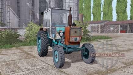 YUMZ 6КЛ arrière roues jumelées pour Farming Simulator 2017