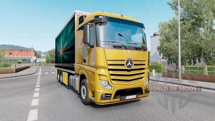 Mercedes-Benz Actros (MP4) Tandem pour Euro Truck Simulator 2