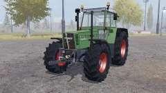 Fendt Favorit 615 LSA Turbomatic double wheels pour Farming Simulator 2013