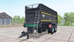 Krampe Bandit 750 nero für Farming Simulator 2017