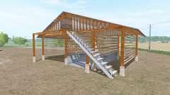 Wooden shed pour Farming Simulator 2017