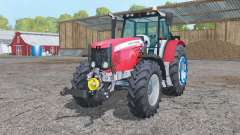 Massey Ferguson 5475 change wheels pour Farming Simulator 2015