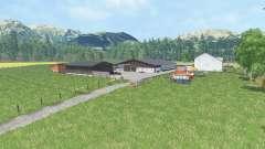 Talmap für Farming Simulator 2015