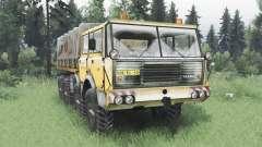 Tatra T813 TP 8x8 1967 hiver v1.5 pour Spin Tires