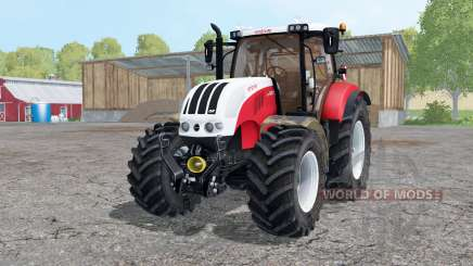 Steyr 6230 CVT starkes rot für Farming Simulator 2015