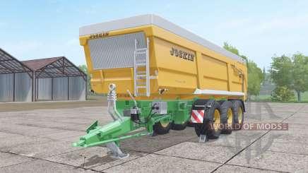 Joskin Trans-Space 8000-27 TRC150 für Farming Simulator 2017