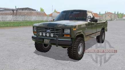 Ford F-150 4x4 Ranger camo 1982 pour Farming Simulator 2017
