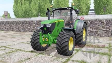 John Deere 6215R moving elements pour Farming Simulator 2017