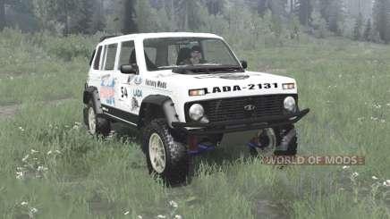 Lada Niva (2131) 1995 Rally v1.1 pour MudRunner
