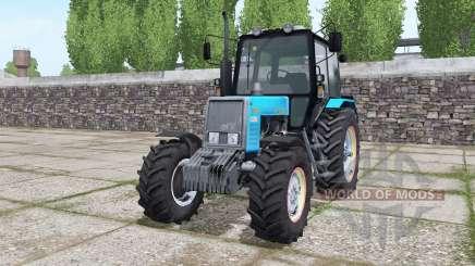 MTZ 820.2 Biélorussie bleu vif pour Farming Simulator 2017