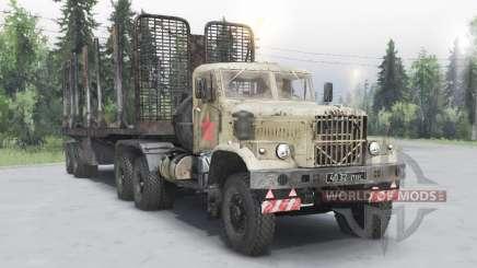 KrAZ 258Б für Spin Tires