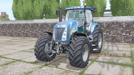 New Holland TG285 moving elements für Farming Simulator 2017