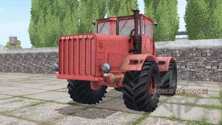 Kirovets K-700 rouge pour Farming Simulator 2017