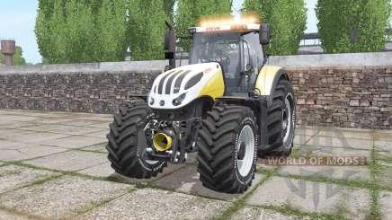 Steyr 6270 Terrus CVT revised light für Farming Simulator 2017