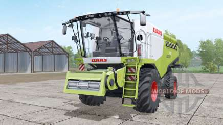 Claas Lexion 740 yellow-green für Farming Simulator 2017
