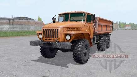 Ural-5557-trailer für Farming Simulator 2017
