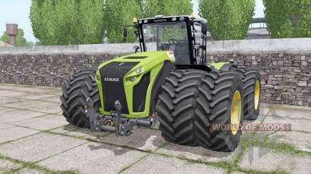 Claas Xerion 4500 Trac VC wheels selection pour Farming Simulator 2017