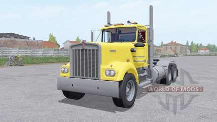 Kenworth W900A 6x6 pour Farming Simulator 2017