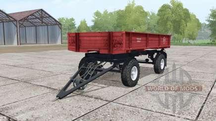2ПТС-moyennement 4-rouge pour Farming Simulator 2017