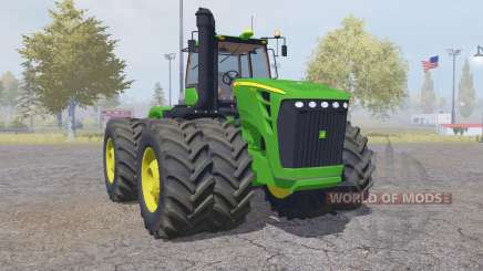 John Deere 9630 double wheels pour Farming Simulator 2013