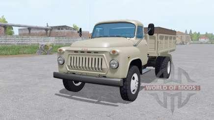 GAZ 53 mit austauschbaren Körpern für Farming Simulator 2017