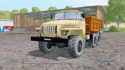 Oural 5557 lumière gris-jaune pour Farming Simulator 2015