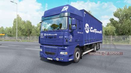 DAF XF105 Super Space Cab Tandem v6.5 pour Euro Truck Simulator 2