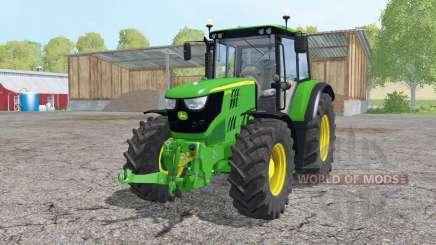 John Deere 6115M loader mounting pour Farming Simulator 2015