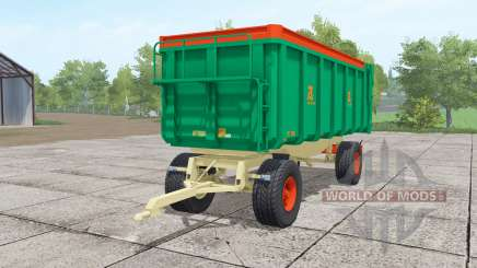 Aguas-Tenias GAT20 lime green für Farming Simulator 2017