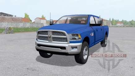 Dodge Ram 2500 Mega Cab 2009 pour Farming Simulator 2017