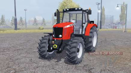 Massey Ferguson 5475 manual ignition pour Farming Simulator 2013