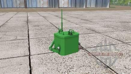 John Deere self made weight für Farming Simulator 2017