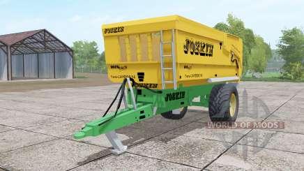 Joskin Trans-Cap 5000-14 yellow für Farming Simulator 2017