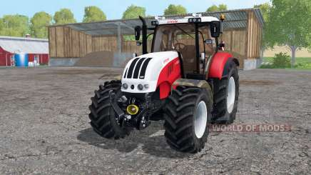 Steyr 6230 CVT strong red pour Farming Simulator 2015