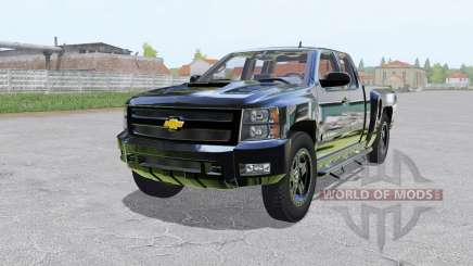 Chevrolet Silverado 2500 HD Extended Cab für Farming Simulator 2017
