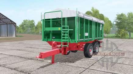 Kroger TKD 302 dark lime green pour Farming Simulator 2017