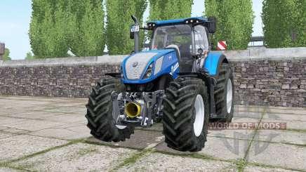 New Holland T7.315 wheels selection für Farming Simulator 2017