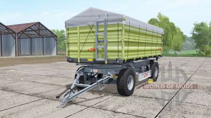Fliegl DK 180-88 desaturated yellow pour Farming Simulator 2017