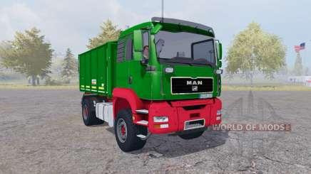 MAN TGA tipper Agroliner v4.0 für Farming Simulator 2013